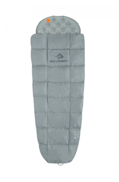 Sea To Summit Cinder Cd1 Quilt Pale Grey, Long (STS ACD1-L) Спальные мешки