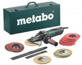 Metabo WEVF 10-125 Quick Inox Set (набор 5 шт) (613080500)