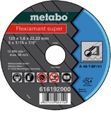 Metabo Flexiamant super 125x1,6x22,2 мм A46-T (616192000)