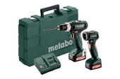 Metabo PowerMaxx BS 12 V SB Basic Set + ULA, 2x2.0Ah (601076900)