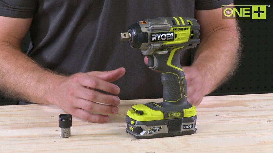 18V Brushless Impact Wrench Introduction [R18IW7]